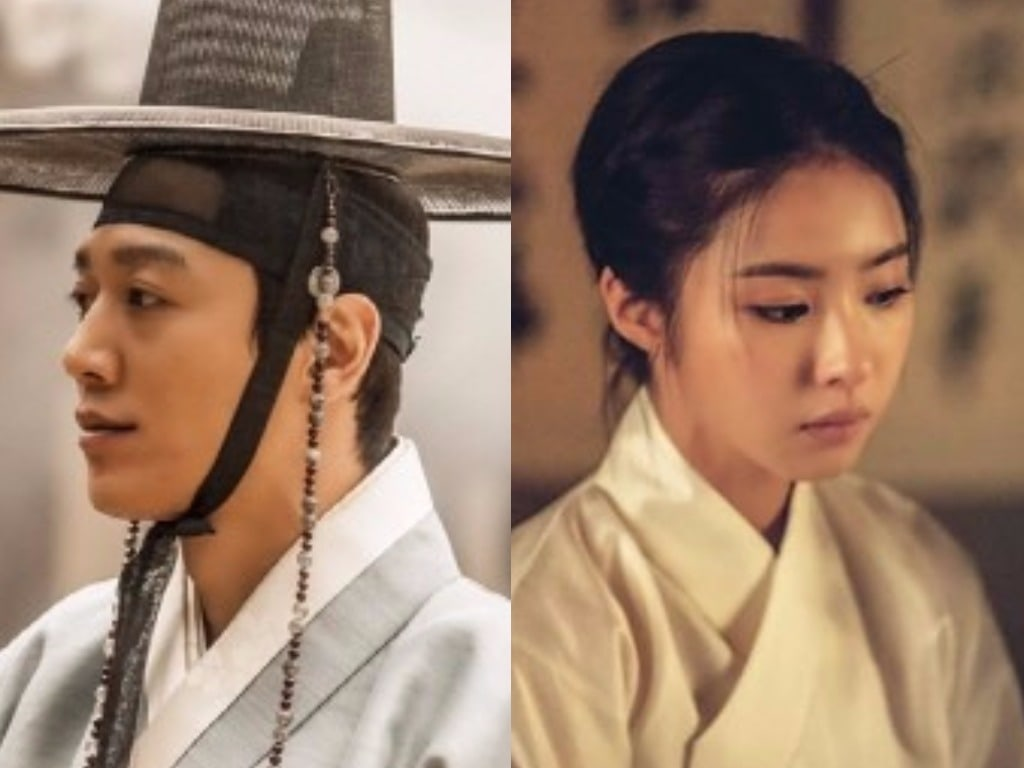 """Kim Rae Won And Shin Se Kyung Look Good In Both Modern And Traditional Dress In """"Black Knight"""" Stills"""