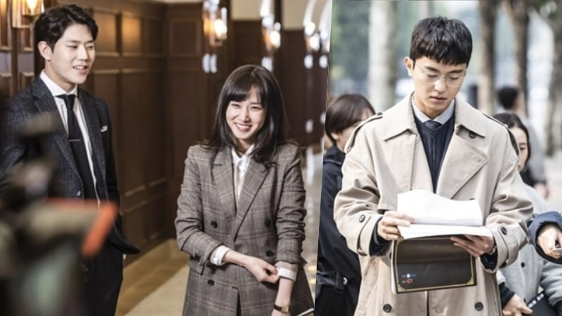 Dong Ha, Park Eun Bin, And Yeon Woo Jin Passionately Rehearse In Behind-The-Scenes Photos