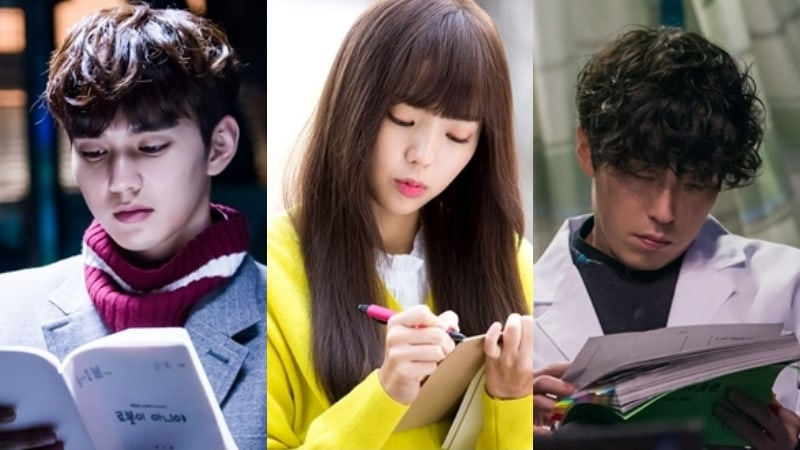"Yoo Seung Ho, Chae Soo Bin, And Uhm Ki Joon Practice Nonstop Behind-The-Scenes Of ""I Am Not A Robot"""