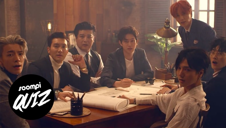 QUIZ: Can You Guess The Super Junior MV From One Screenshot?