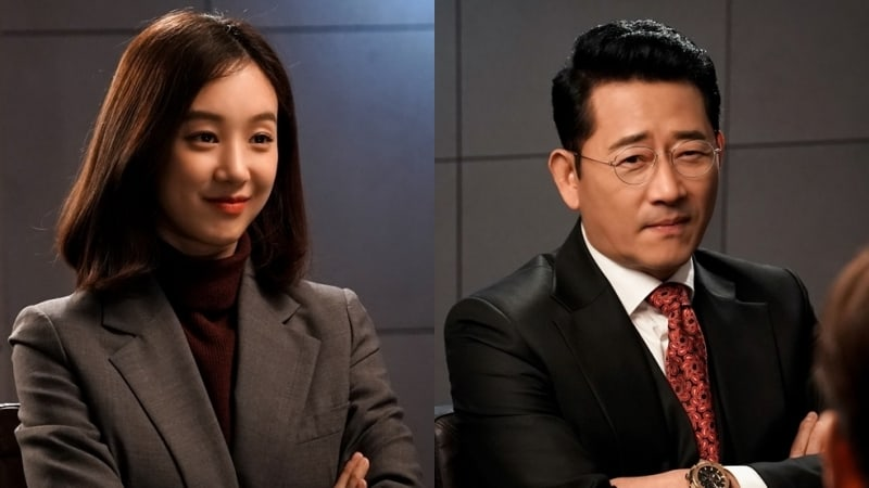"Jung Ryeo Won And Jun Kwang Ryul Finally Go Head-To-Head In New ""Witch's Court"" Stills"
