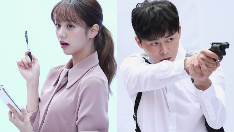 """Watch: Hyeri And Jo Jung Suk Rate Their On-Screen Chemistry In Upcoming Drama """"Two Cops"""""""