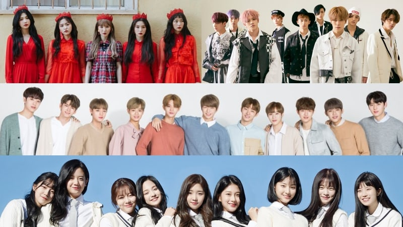 2017 MAMA Announces Special Stages By Red Velvet + NCT 127, Wanna One, And fromis_9
