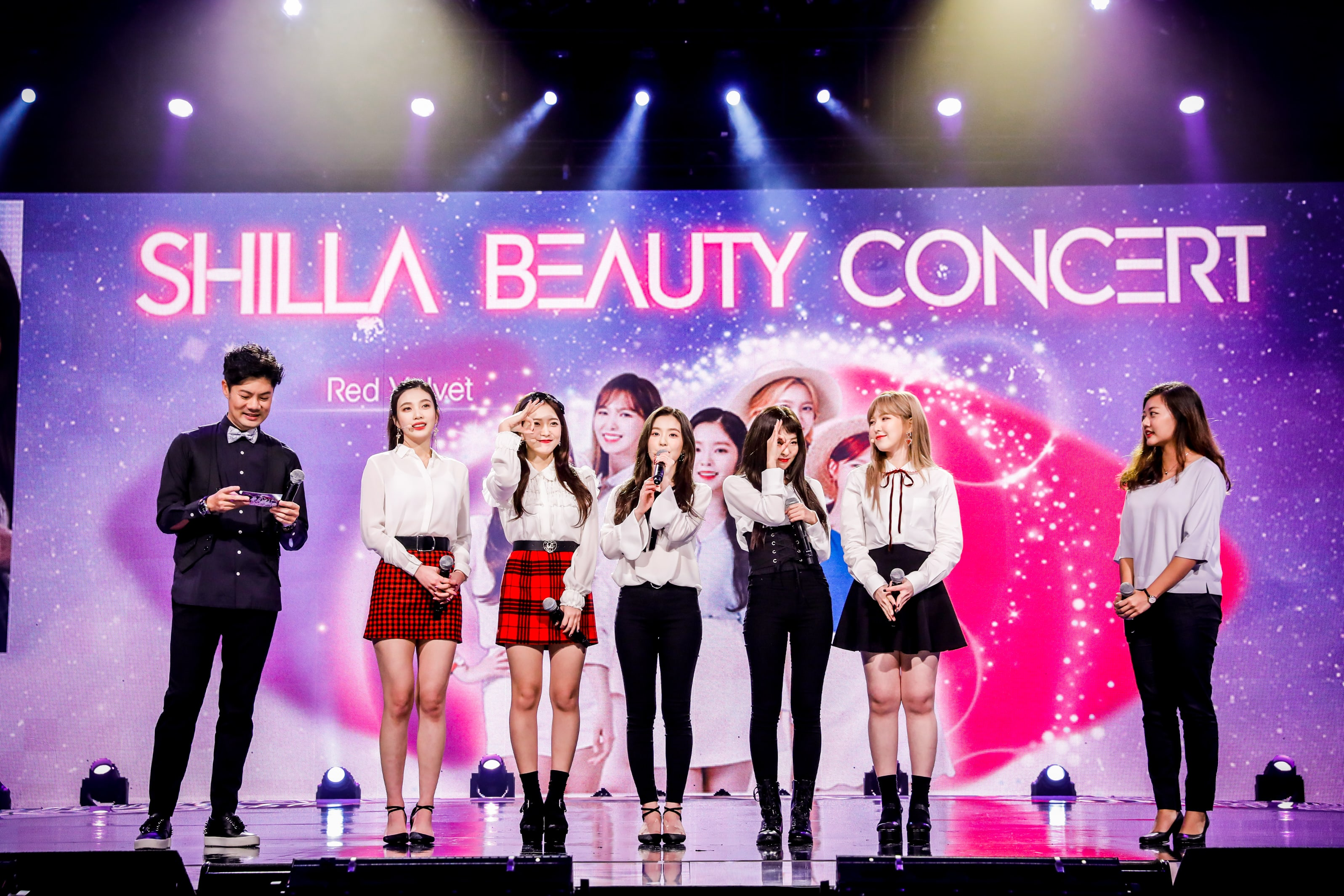 Exclusive: SHINee & Red Velvet Share Future Plans And Beauty Tips At Shilla Beauty Concert In Singapore