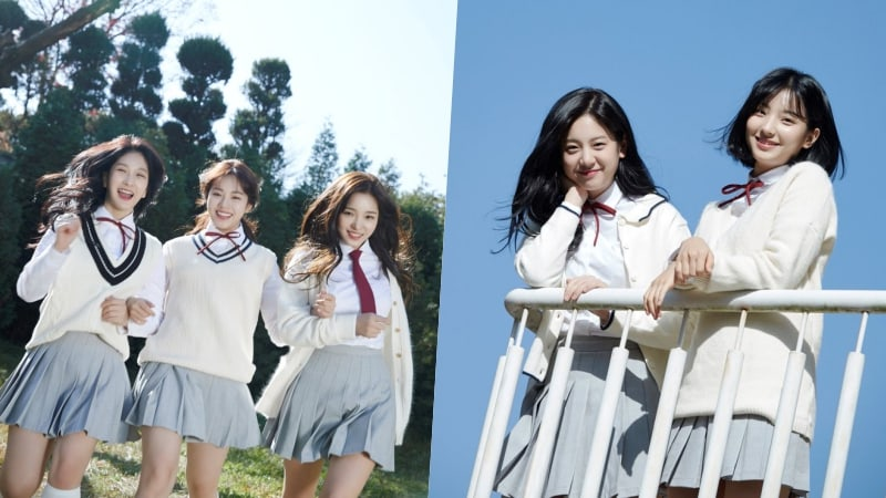 "Update: ""Idol School"" Girl Group fromis_9 Shares Gorgeous Unit Photos Before Their Debut"