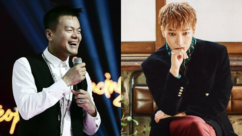 Park Jin Young Shows Support For Jun.K's Solo Album