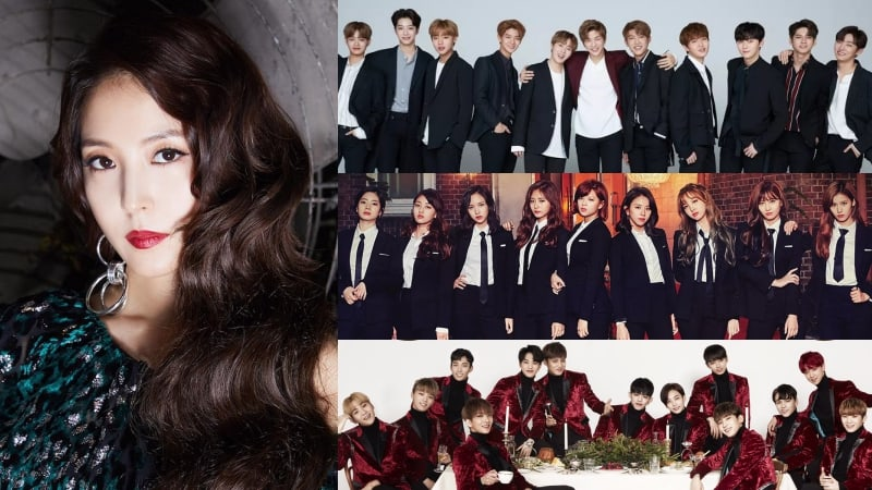 2017 MAMA To Feature Special Stage For BoA With Members Of Wanna One, TWICE, And SEVENTEEN