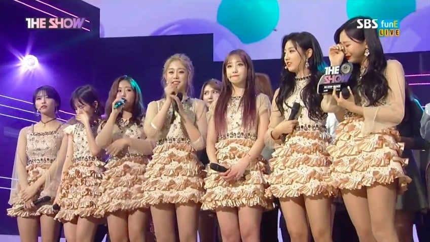 "Watch: Lovelyz Takes 1st Win For ""Twinkle"" On ""The Show,"" Performances By KARD, Samuel, SF9, And More"