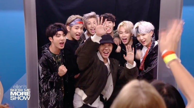 "Watch: BTS Surprises Fans Backstage At ""The Ellen DeGeneres Show"""