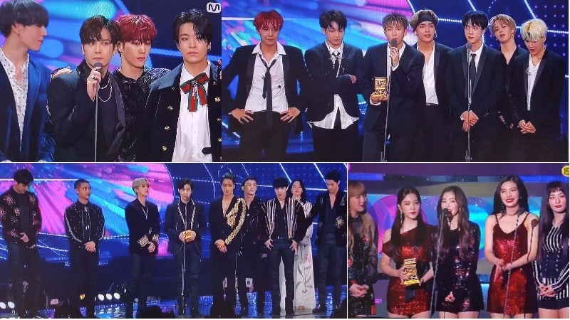 Here Are The Winners Of The 2017 Mnet Asian Music Awards (MAMA) In Hong Kong