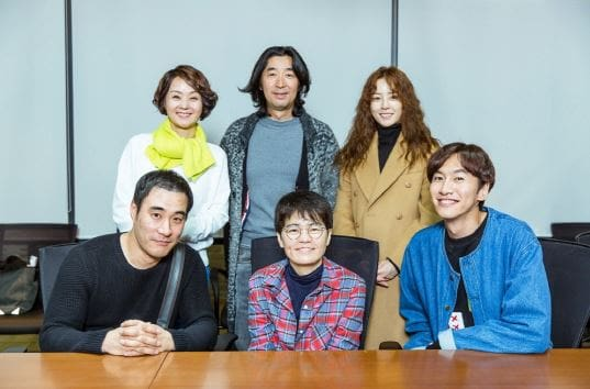 Upcoming tvN Drama With Lee Kwang Soo And Jung Yoo Mi Drops Photos From First Script Reading