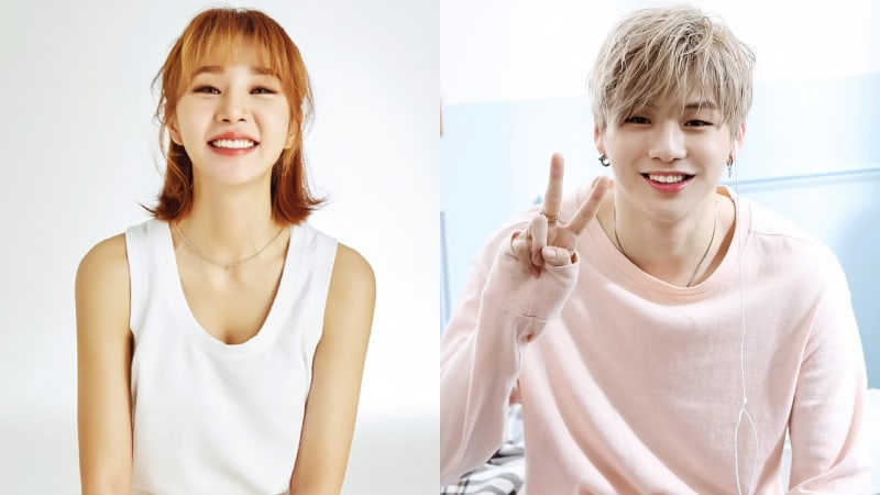 FIESTAR's Cao Lu Shows Affection For Wanna One's Kang Daniel, Her Former Backup Dancer