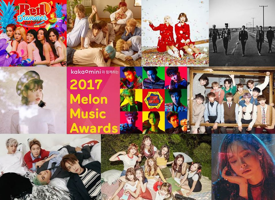 Watch Live: The 2017 Melon Music Awards