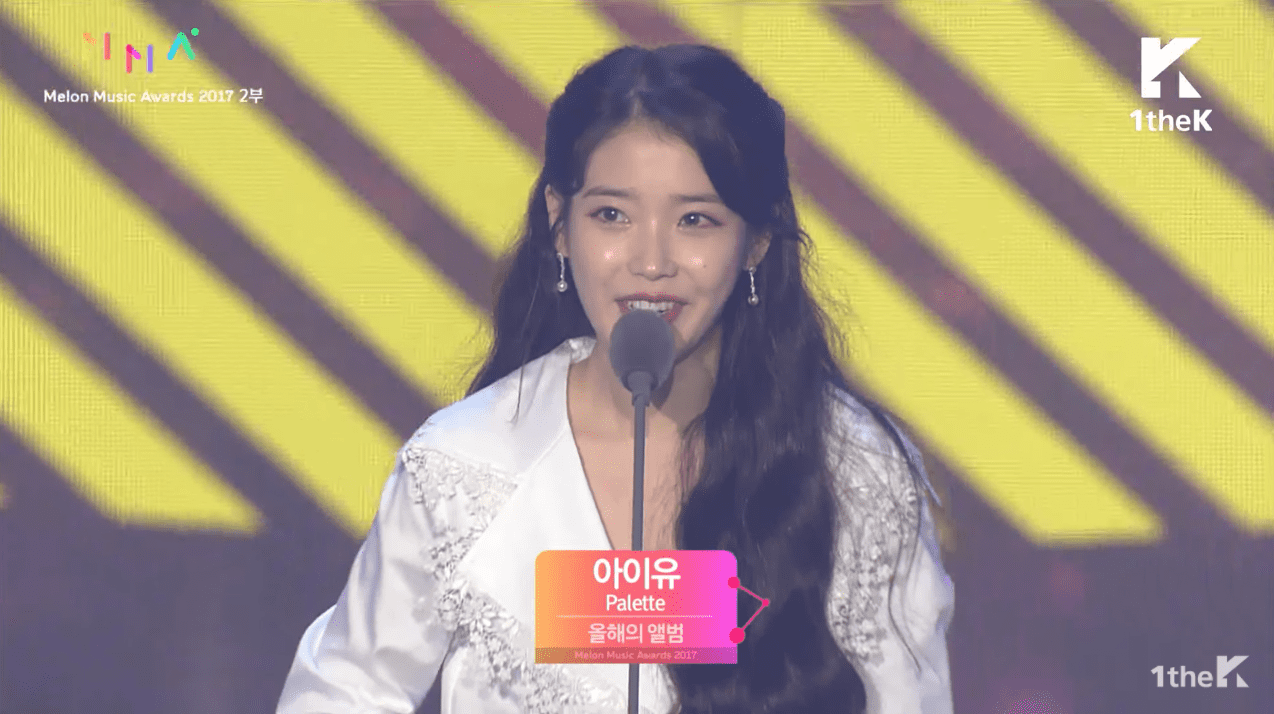 IU Wins Best Album Of The Year At The 2017 Melon Music Awards, Total Of Three Awards