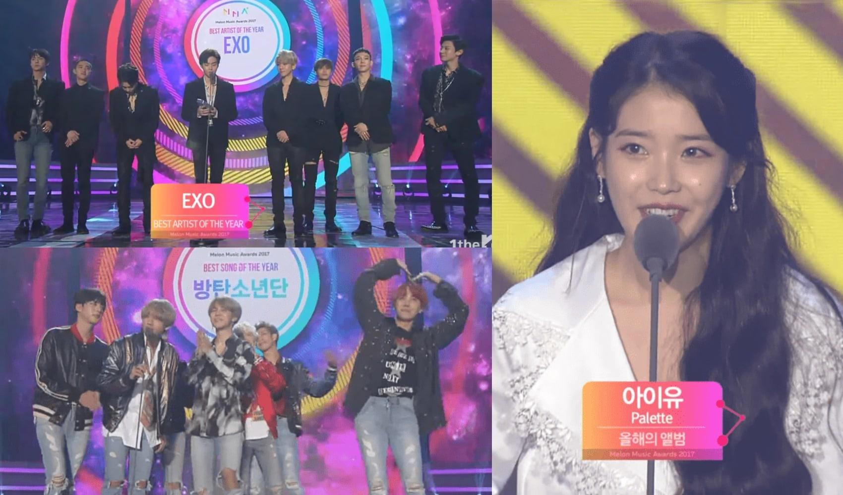 The Winners Of The 2017 Melon Music Awards | Soompi