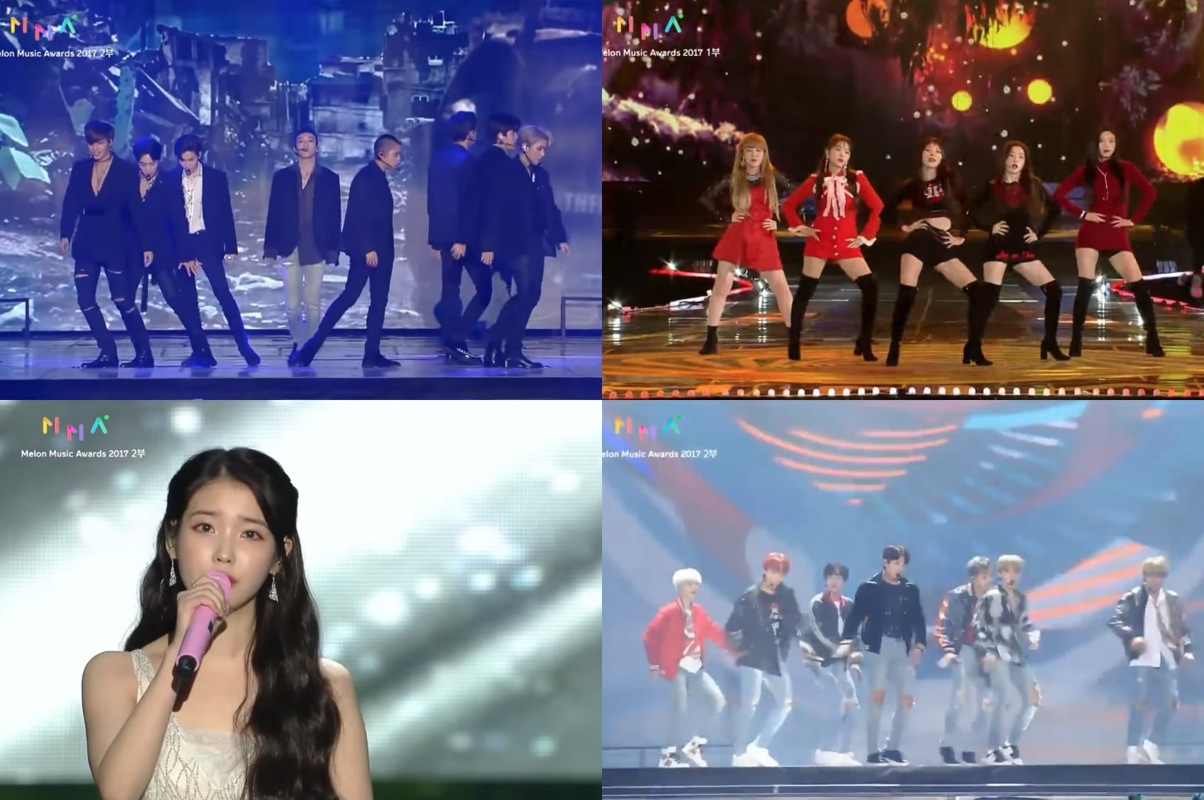 Performances From 2017 Melon Music Awards