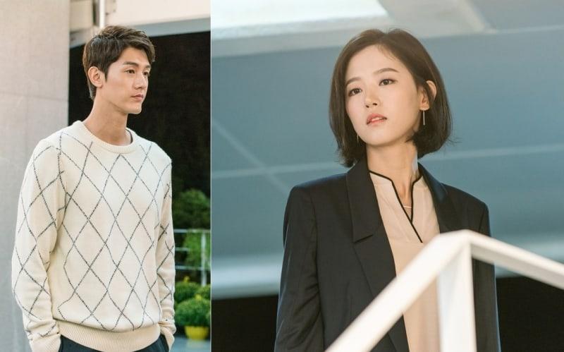 """Lee Ki Woo And Kang Han Na Meet As Past Lovers In """"Just Between Lovers"""" Stills"""