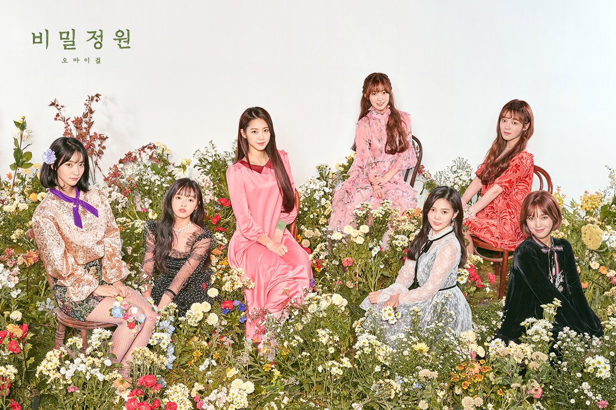 Oh My Girl Tops K-Pop Music Video Chart In China