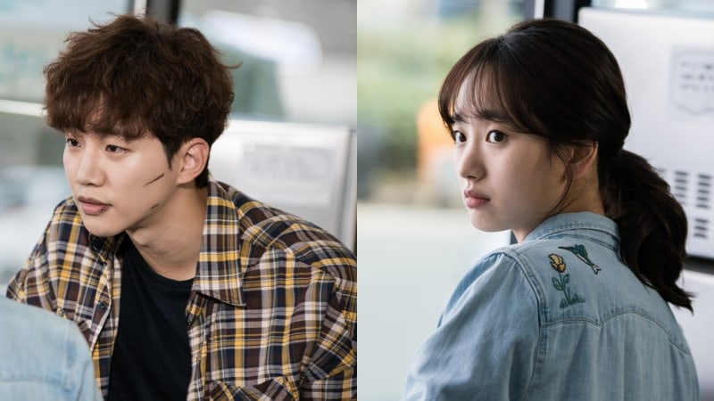 "2PM's Junho And Won Jin Ah Stare Intently At Each Other In New Stills For ""Just Between Lovers"""