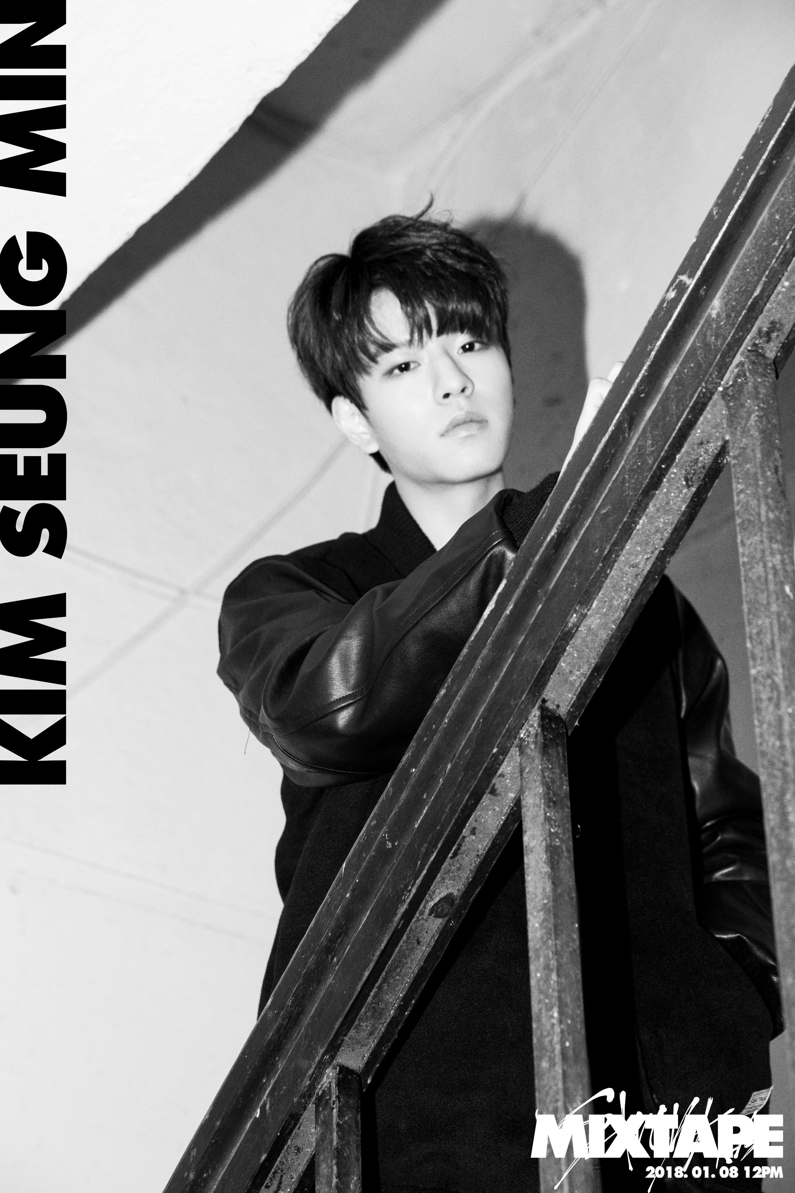 "Stray Kids >> Mini Album ""Clé 2 : Yellow Wood"" Kim-Seungmin"