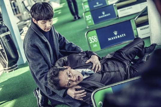 "Kim Byung Ok And Park Sung Hoon Are Cold Father And Son In ""Black Knight"" Stills"