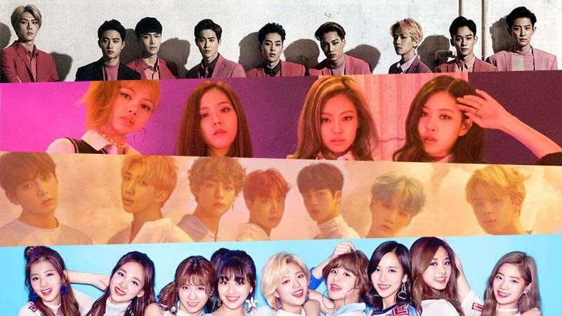 Here Are Tumblr's Most Popular K-Pop Groups And Members Of 2017