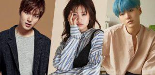 Lee Min Ho, Jung So Min, and BTS Suga