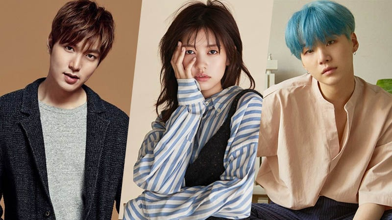 Lee Min Ho, Jung So Min, and BTS Suga