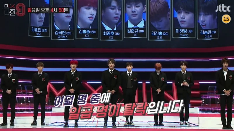 "Watch: ""MIXNINE"" Drops Nerve-Wracking Preview Of First Round Of Eliminations"