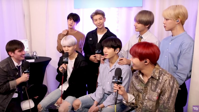 11 Things That Happen In A BTS U S  Interview | Soompi