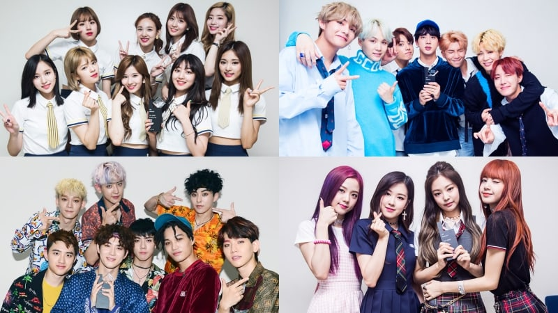 Click TWICE BTS EXO BLACKPINK MEMBERS? Quiz - By colorgirls