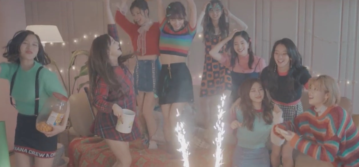 "Update: TWICE Shares ""Hidden Film"" Video Of Members Holding Christmas-Themed Party For Comeback"