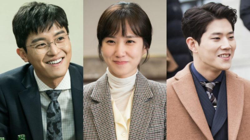 """Judge Vs. Judge"" Cast Can't Stop Smiling Behind The Scenes"