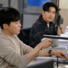 "Hoya Looks Up To His Boss Jo Jung Suk In ""Two Cops"" Stills"