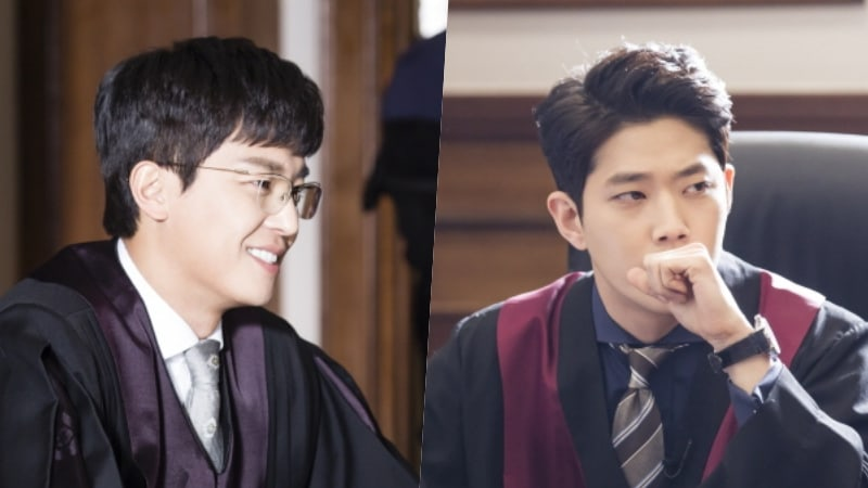 "Yeon Woo Jin And Dong Ha Get Into Character Behind The Scenes Of ""Judge Vs. Judge"""
