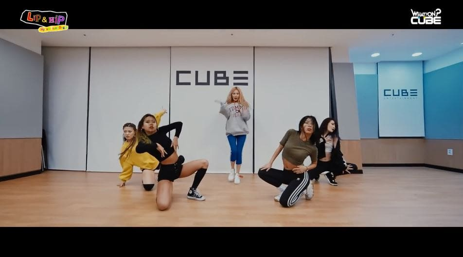 """Watch: HyunA Is Sexy As Ever In Choreography Version Of """"Lip & Hip"""""""