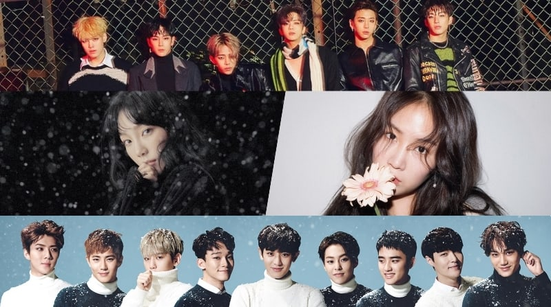 Comebacks And Holiday Releases On The Way In December