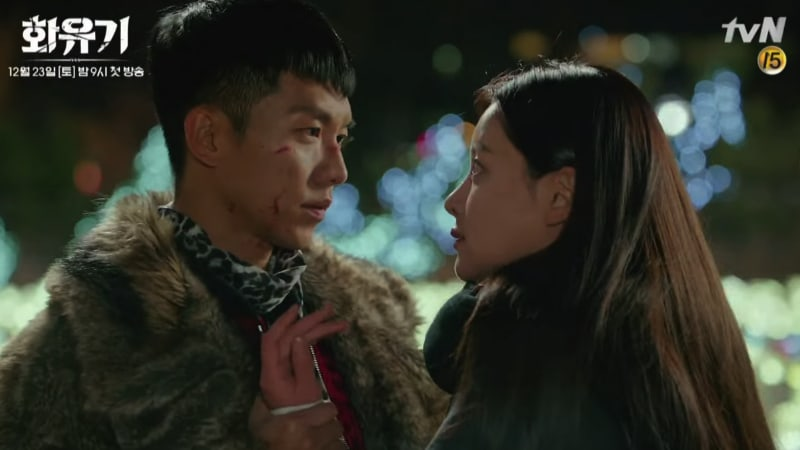 """Watch: Oh Yeon Seo Calls Lee Seung Gi For Help In Dramatic Trailer For """"Hwayugi"""""""