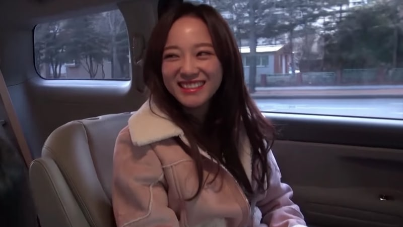 Watch: gugudan's Kim Sejeong Surprises A Lucky Fan With A Ride To School