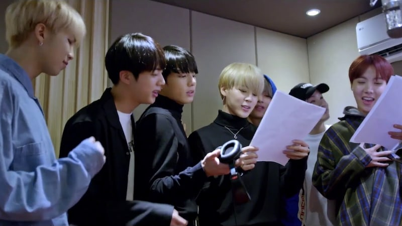 """Watch: BTS Has Fun In The Studio For """"With Seoul"""" MV"""