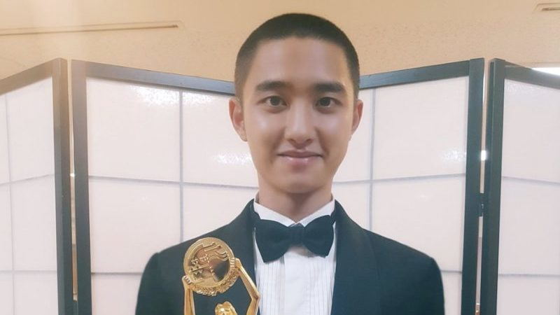 EXO's D.O. Shares Thoughts On Winning Best New Actor At Blue Dragon Film Awards