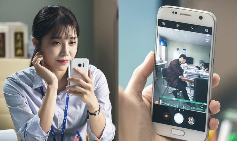 "Jung Eun Ji Sneakily Keeps An Eye On Her Crush Jin Goo In ""Untouchable"""
