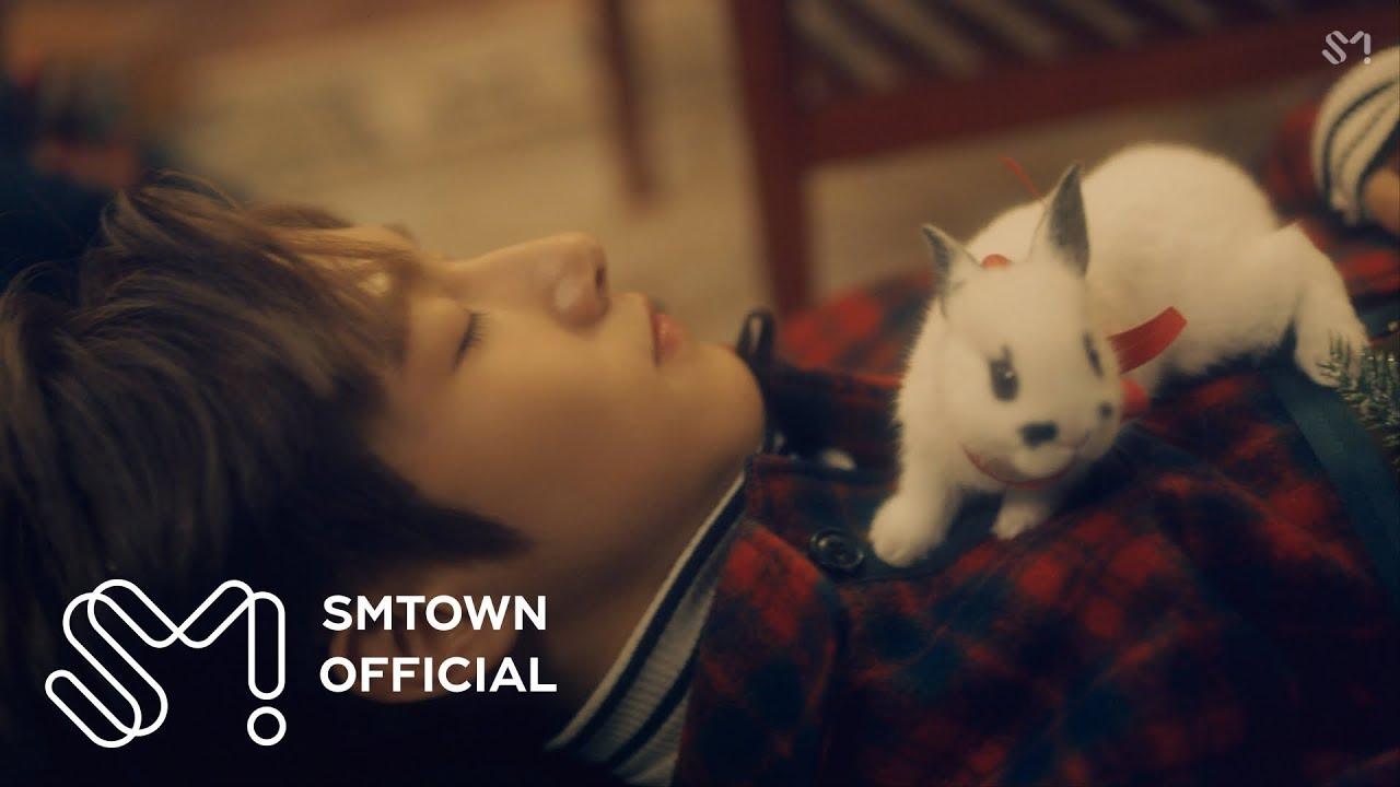 "Update: NCT Dream Snuggles Up With Bunnies For A Christmas Nap In Teaser For SM STATION ""Joy"" MV"