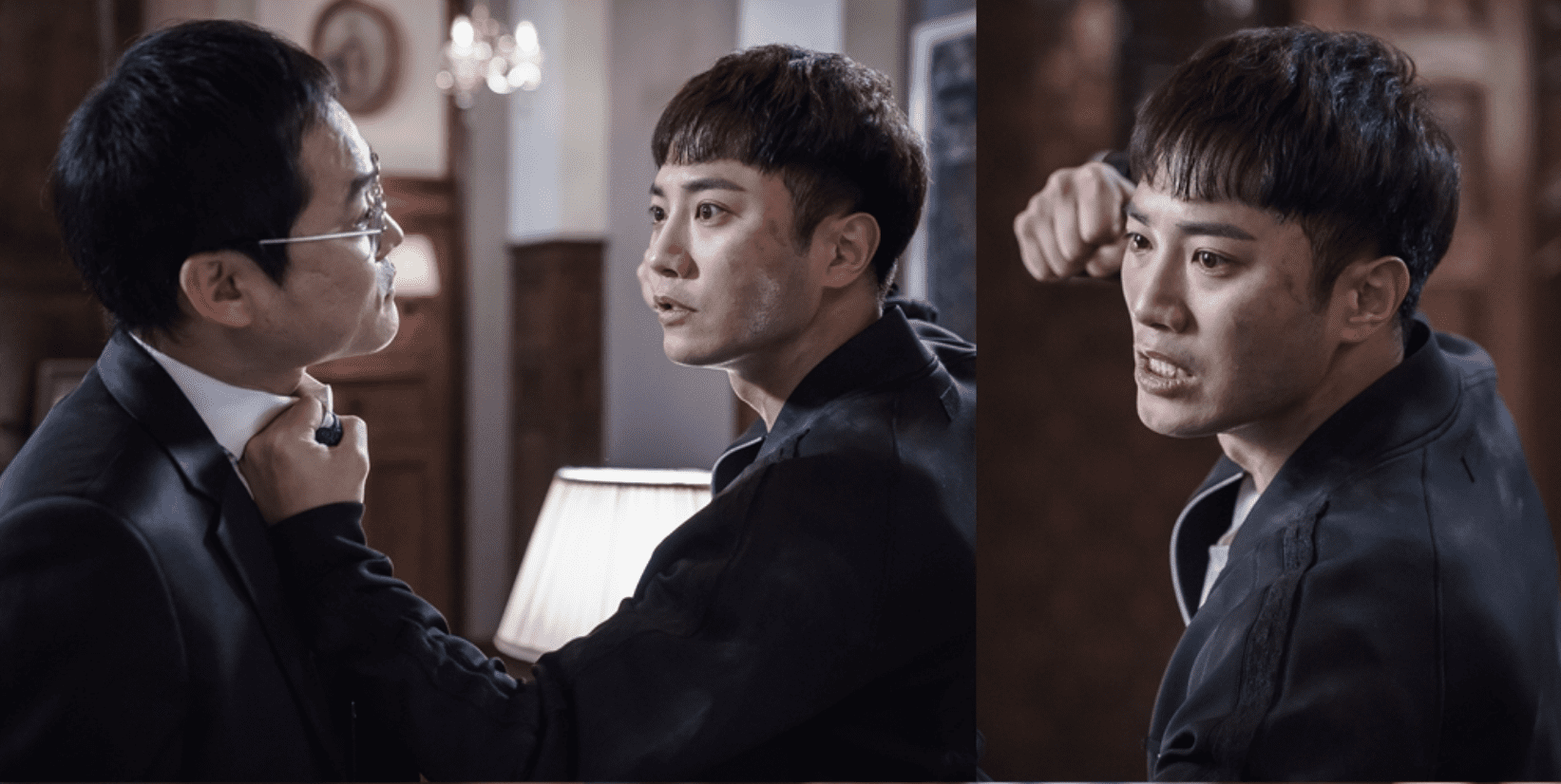"Tension Between Brothers Jin Goo And Kim Sung Kyoon Erupts Into Physical Violence In ""Untouchable"""