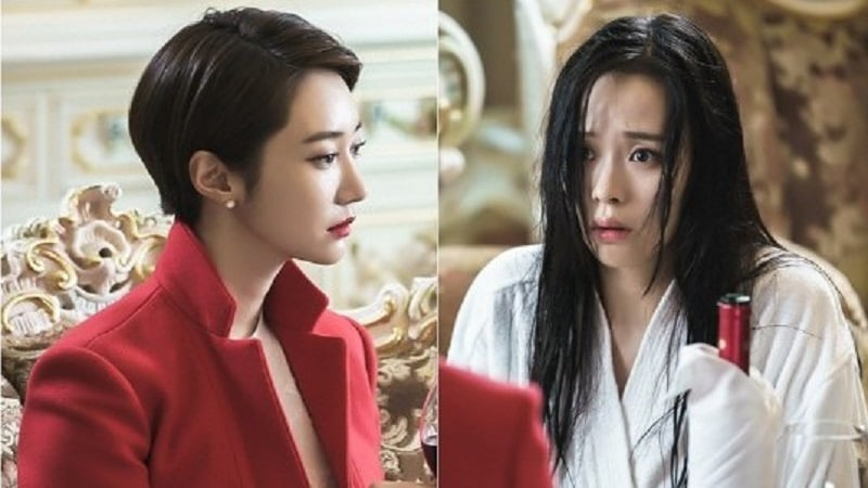 "Go Jun Hee And Ji Yoon Ha Have Tension-Filled Encounter As Wife And Mistress On ""Untouchable"""