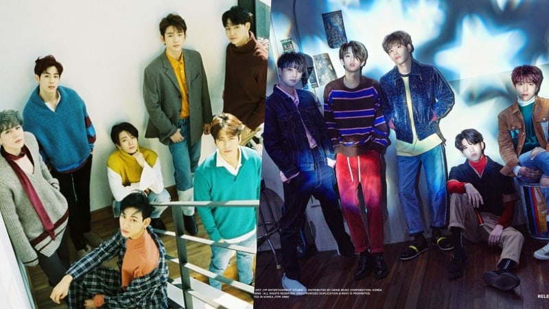 JYP Labelmates GOT7 And DAY6 Top Gaon's Weekly Album Chart