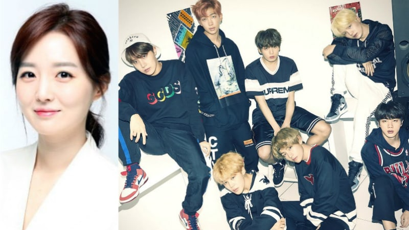 Announcer Kim So Young Hilariously Reacts To Someone Talking About Their Age As BTS Fan