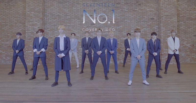 "Watch: SEVENTEEN Joyfully Dances In Cover Video Of BoA's ""No.1"""