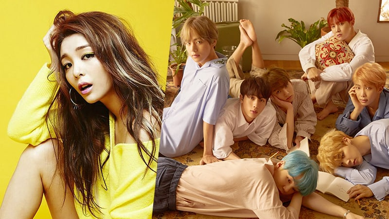 Ailee And BTS Top Gaon's Overall 2017 Music Charts