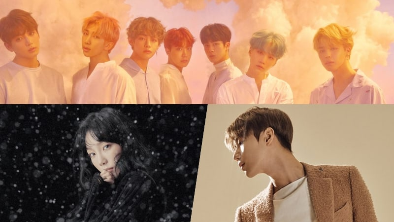 BTS, Girls' Generation's Taeyeon, And SHINee's Taemin Rank High On Billboard's World Albums Chart